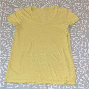 Weathered cotton j.crew t-shirt